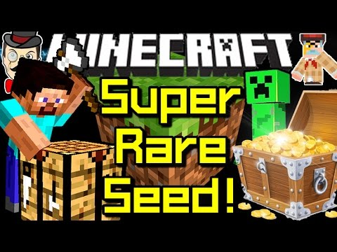 Minecraft 1.8 ULTRA RARE SEED & More Useful Seeds!