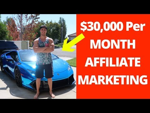The 5 Steps To Make $30.000 Affiliate Marketing With NO EXPERIENCE