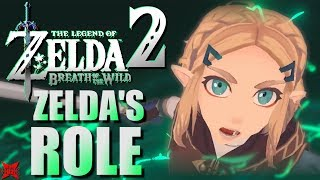 Zelda's Role In Breath of the Wild 2