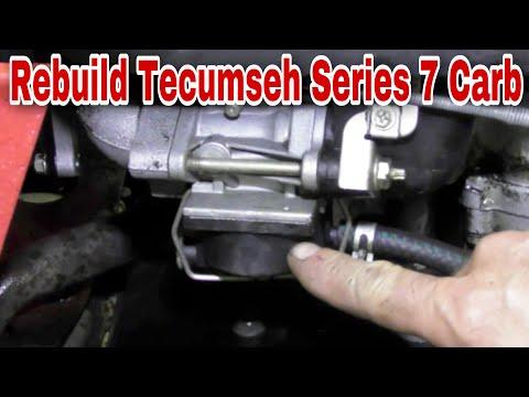 How To Rebuild A Tecumseh Series 7 Plastic Float Bowl Carburetor - Maximum MowerDrive