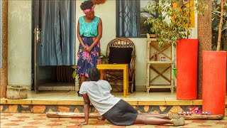 Spare the rode and spoil the child. Kansiime deals with Praise traditionally. African comedy.