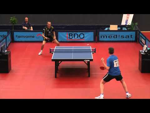 DM 2012 bordtennis | Christian Kongsgaard vs Henrik Vendelbo