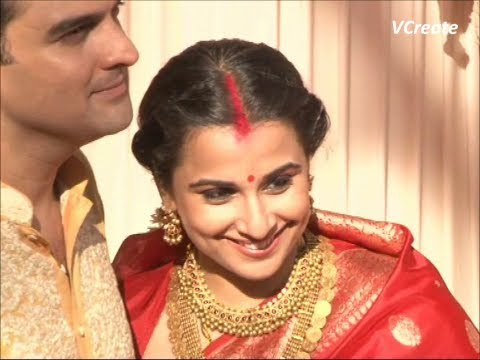 Vidya Balan's Video After The Wedding Ceremony. video