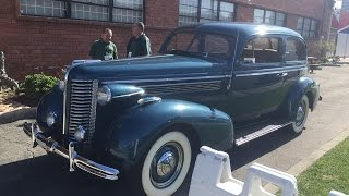 Riding In A 1938 Buick Special
