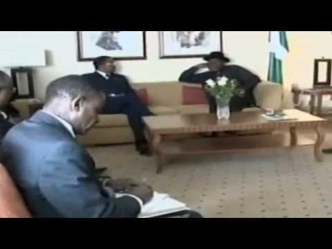 President Jonathan Meets US Ambassador On Modalities To Rescue Abducted Girls