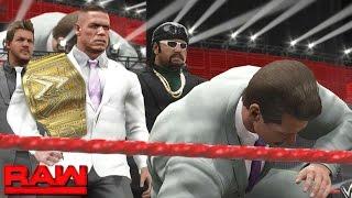 WWE 2K17 Story - John Cena Risks His Career (Retiring?) - Ep.29