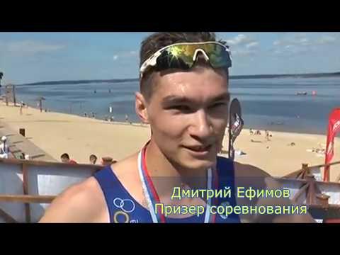 """В Чебоксарах впервые прошли соревнования """"Чебоксарский акватлон"""""""