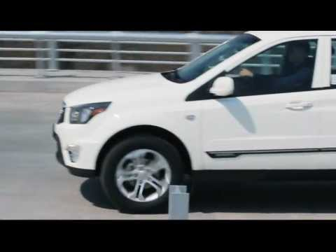 SsangYong Actyon Sports, реклама