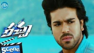 Rachaa - Racha Movie - Ram Charan, Ajmal Ameer, Tamannaah, MS Narayana  Action Scene