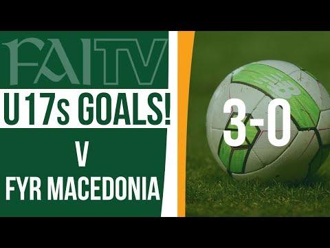 U17 GOALS: Republic of Ireland 3-0 FYR Macedonia