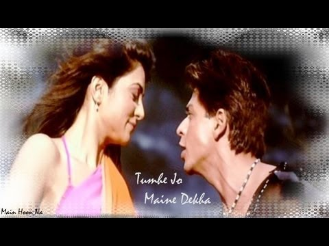 Tumhe Jo Maine Dekha (Remix) Full Song | Main Hoon Na | Shahrukh...