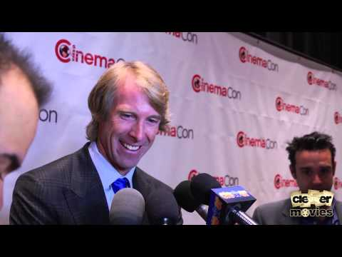 Michael Bay Talks 'Pain & Gain' & 'Transformers 4' At CinemaCon