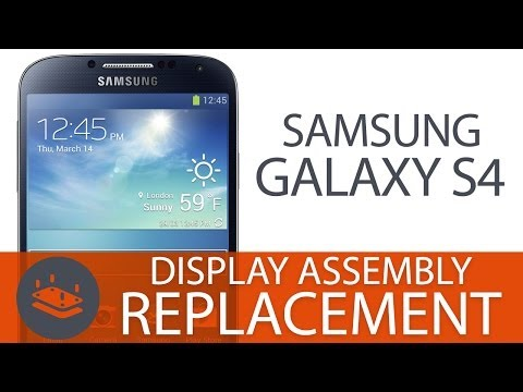 How To: Replace a Galaxy S4 Front Panel