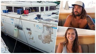 They bought a hurricane damaged boat - Unforgettable Sailing (Ep.81)