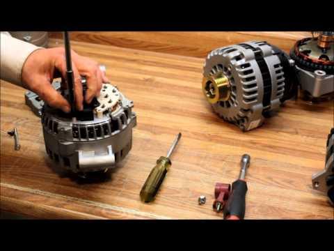 How to change the Voltage Regulator on Ford 6G Alternator