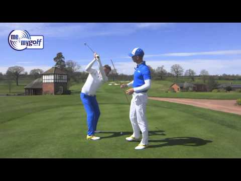 Backswing Golf Lesson Arm and Shoulder plane