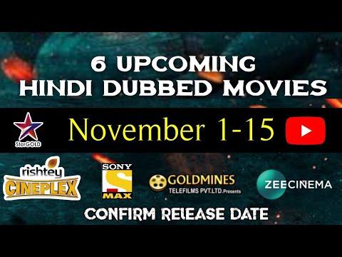 November - 6 Upcoming New South Hindi Dubbed Movies | Dashing CM Bharat | Suriya Ki Gang Hindi Dub
