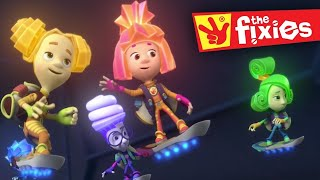 The Fixies | The Airbag | Full Episodes | Fixies English | Videos For Kids | Wildbrain Cartoons
