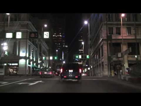 Cincinnati, OH: Streets at Night