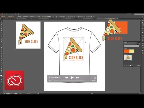How to Create a Logo in Illustrator CC (2/6) | Adobe Creative Cloud