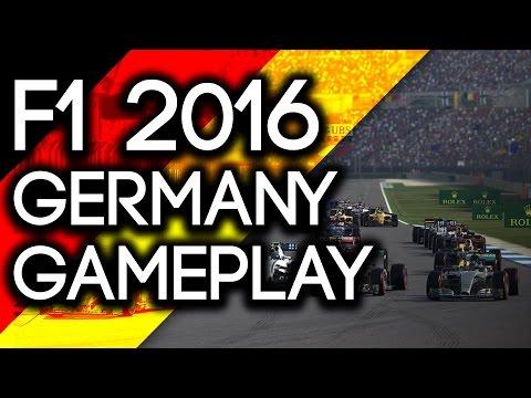 F1 2016 Gameplay   Hockenheim Germany Nico Rosberg (Last to First Challenge)
