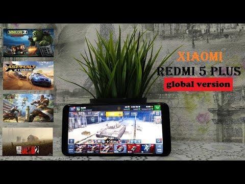 Обзор игровой производительности Xiaomi Redmi 5 Plus