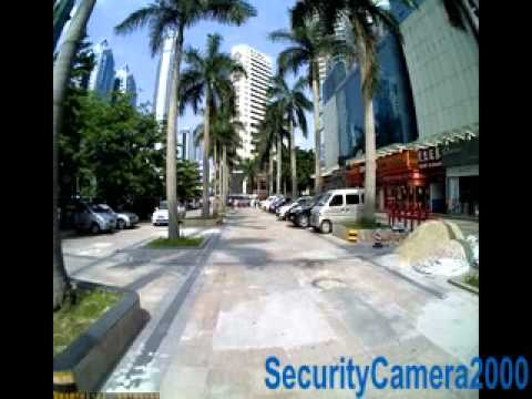 SC2000.com Sample Video of 105 Deg Super Wide View 1280X1024 High Resolution Car DVR Recorder