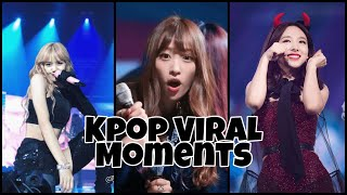KPOP VIRAL MOMENTS | Girls Ver.