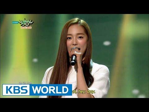 CLC - First Love (첫사랑) / PEPE [Music Bank HOT Debut / 2015.03.20]