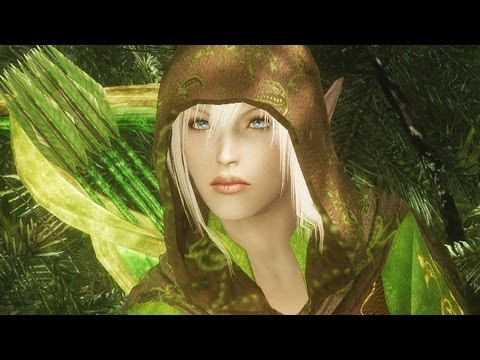 Top 5 Skyrim Mods of the Week - Death Petal Poison Forest