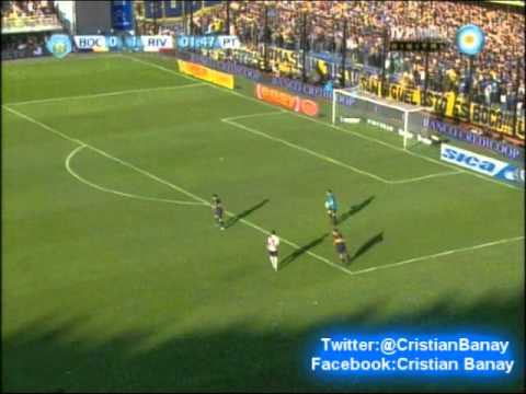 Boca 1 River 1 (Relato Mariano Closs) Torneo Final 2013 Los goles (5/5/2013)