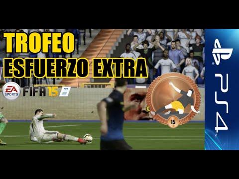 Trofeo / Logro Esfuerzo extra PS4 / Xbox One   FIFA 15
