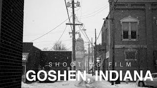Shooting film in Goshen, Indiana ~ Bronica SQ-Ai, HP5 and FP4