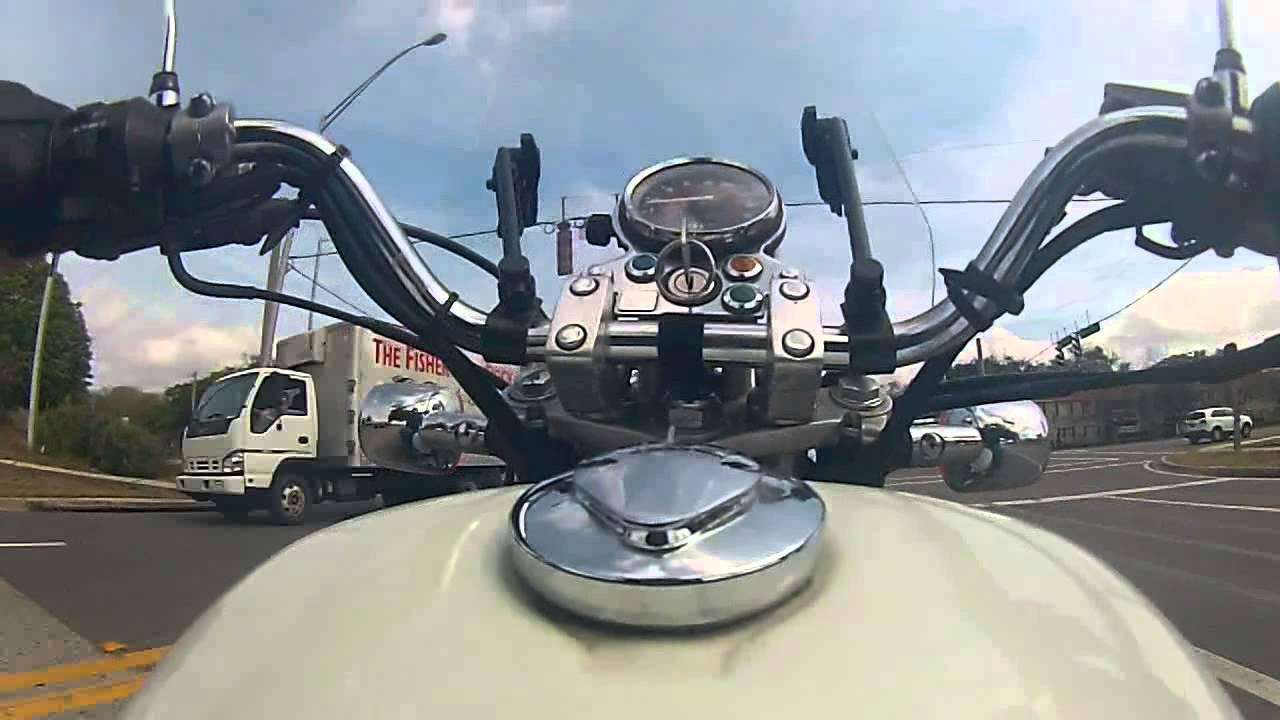 Riding Around Jacksonville On The Honda Rebel 250 - YouTube