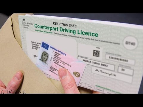 Paper Part Driving Licence Paper Driving Licence Axed