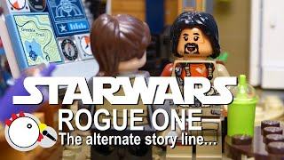 Star Wars Rogue One: The alternate story line - Cheep Jokes - LEGO Stop Motion Video