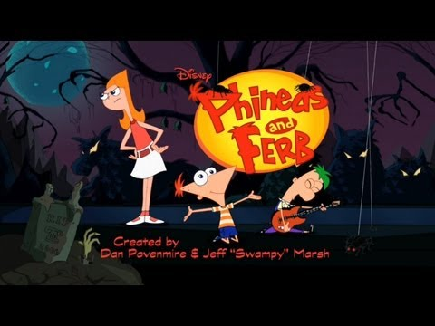 Phineas and Ferb  Opening Halloween Special 2013