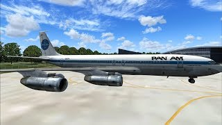 FSX HD Captain Sim 707-300 Model