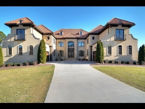 Must see 10000 sf mansion waxhaw nc video tour youtube for Mini mansions houses