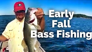 Early Fall Bass Fishing