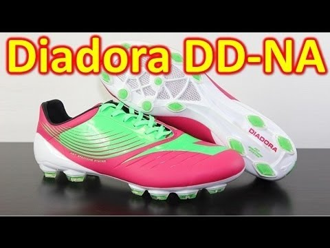 Diadora DD-NA GLX 14 Vibrant Red/Fluorescent Green - Unboxing + On Feet