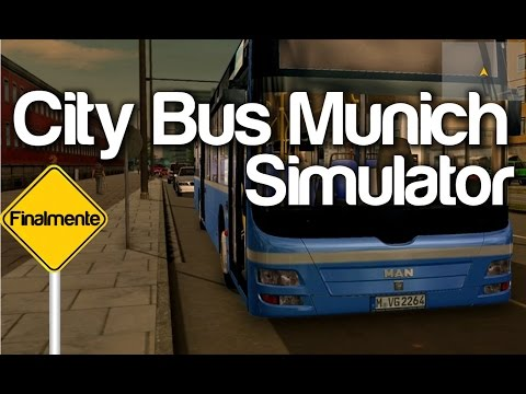 FINALMENTE!!! | City Bus Munich Simulator [PT-BR]