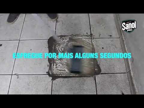 Sanol Pro - Limpa Cerâmica