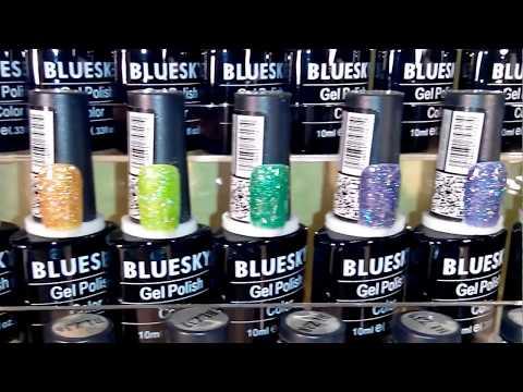 BLUESKY гель лаки серии BLZ, цвета № 01-60, 10 мл.