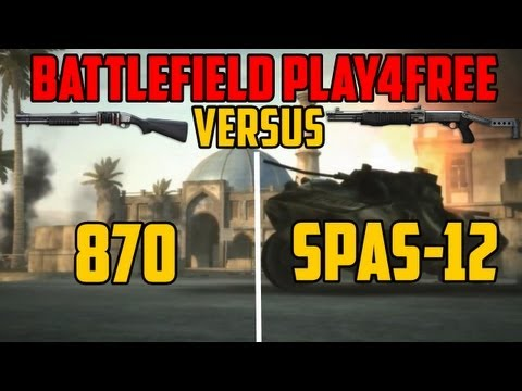 BFP4F VERSUS - 870 Combat vs SPAS-12