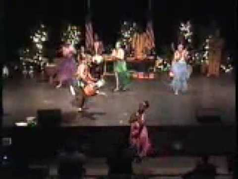 Ayubu Kamau - African Dance, Livingston TX 2009