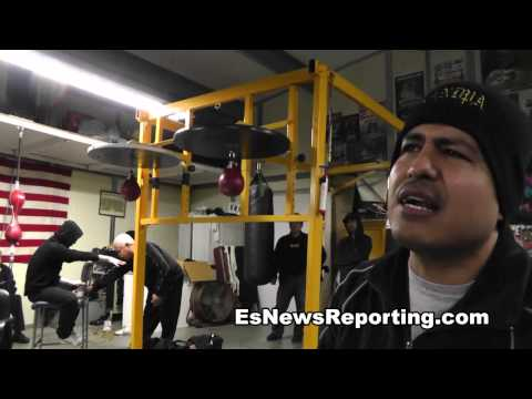 Robert Garcia on Mikey vs Orlando Salido - esnews boxing