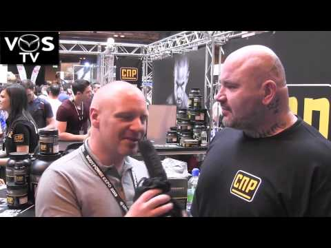 VOS TV - Rob Frampton - Interview at The BodyPower Expo 2013