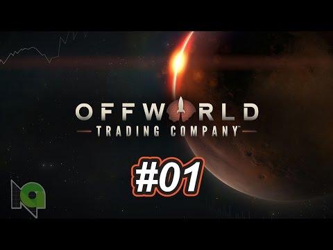 Offworld Trading Company ตอนที่01 เริ่มต้นเรียนรู้ใหม่บนดาวอังคาร