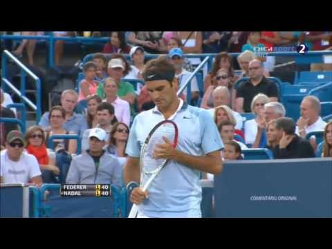 Roger Federer vs Rafael Nadal - Full Match HD Part 1/3 - Cincinnati Masters 2013